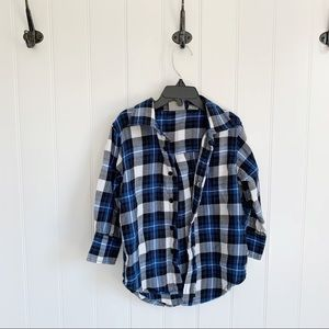 🌵 Bass Pro Shops Boys Plaid Flannel Button Down